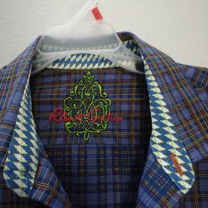 Robert Graham long sleeve dress shirt size L